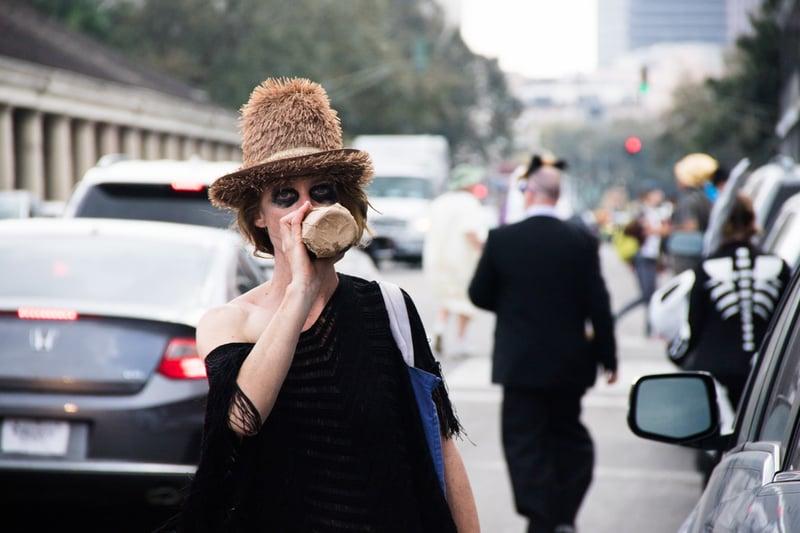 street lady